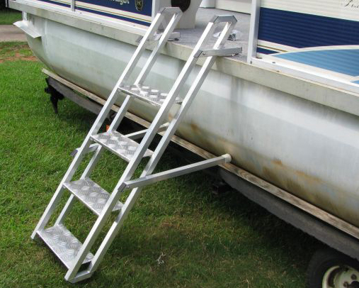 Side Mount Ladder for Pontoon Boat