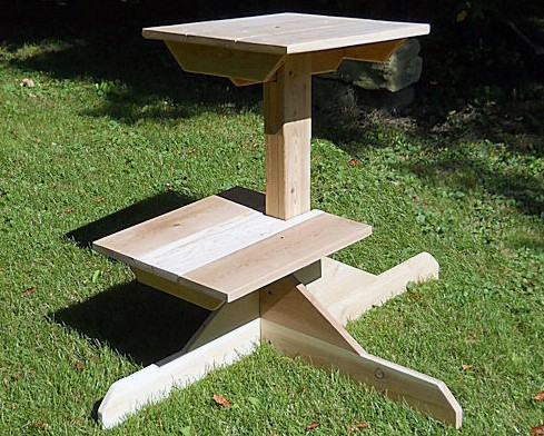 Outdoor Cedar Cat Tree